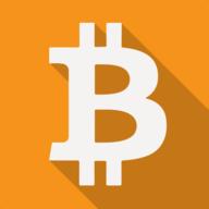 bitcoin shadow icon