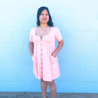 pink date night dresses
