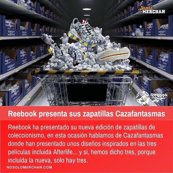 Reebook presenta sus zapatillas Cazafantasmas