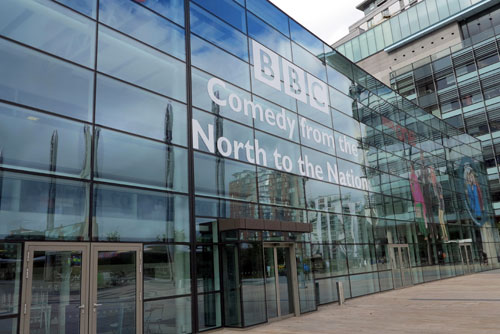 BBC North, Media City, Manchester.