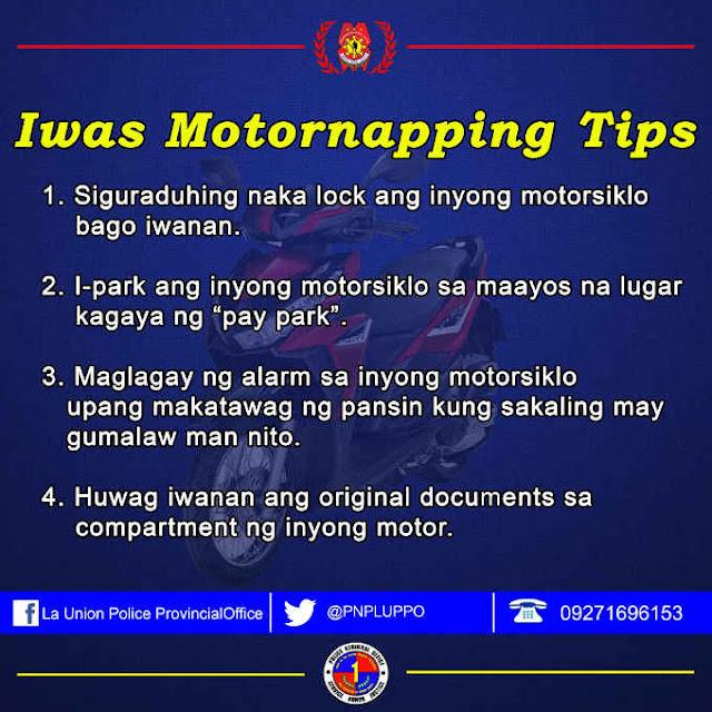 iwas motornapping tips