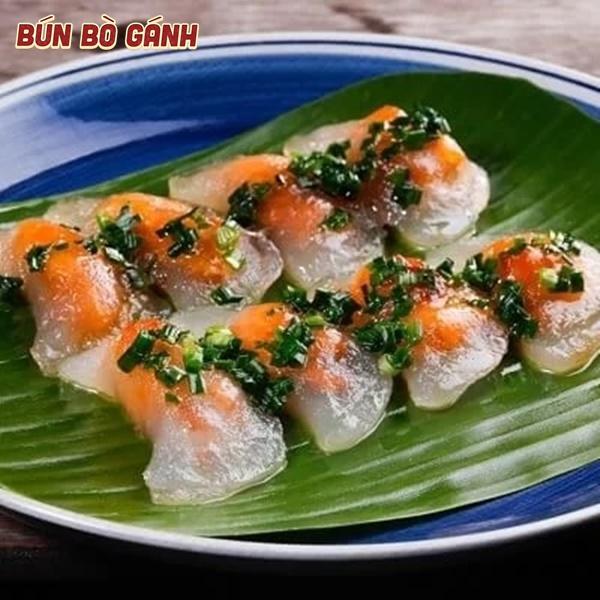 Bánh Bột Lọc Nhân Tôm Thịt - Shrimp & Pork Rice Dumplings