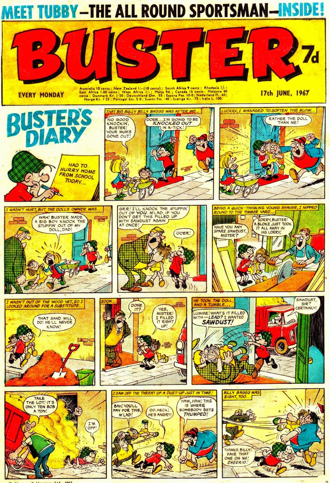 Buster nº 369, 1967, ¿Nadal, Gin o otro?
