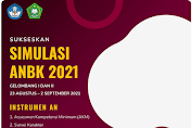Twibbon Sukses Simulasi ANBK Tahun 2021