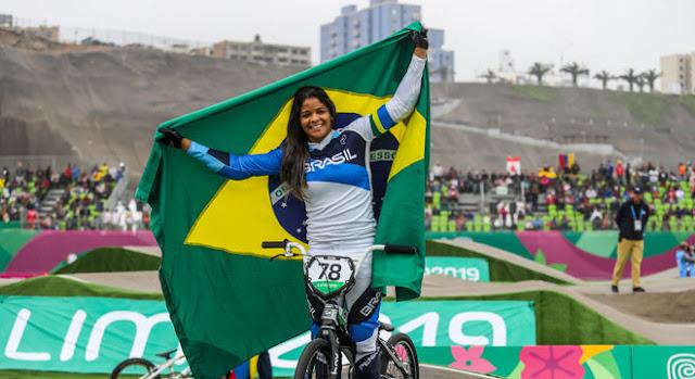 Paôla Reis nos Jogos Pan-Americanos - Lima 2019