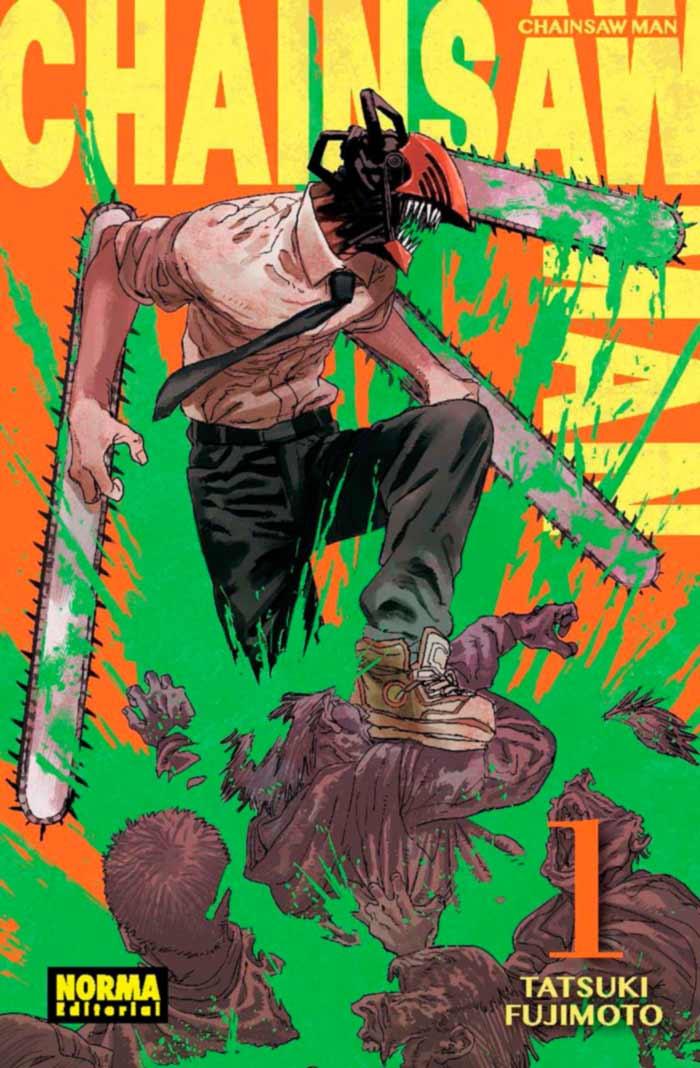 Chainsaw Man manga - Tatsuki Fujimoto - Norma Editorial