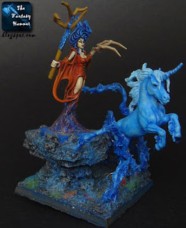 Wood Elves Spellweaver with Unicorn
