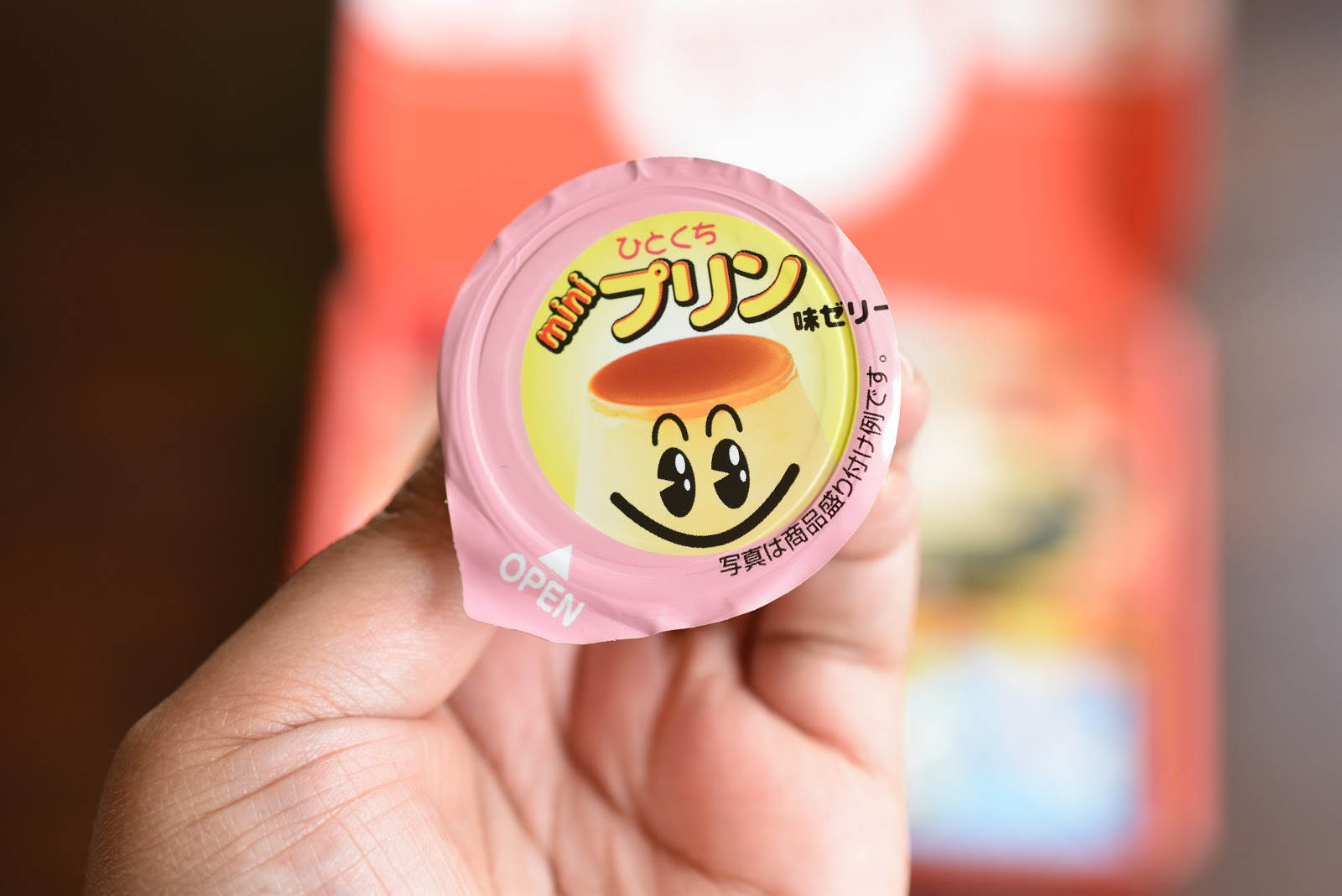 Pudding Flavored Jelly