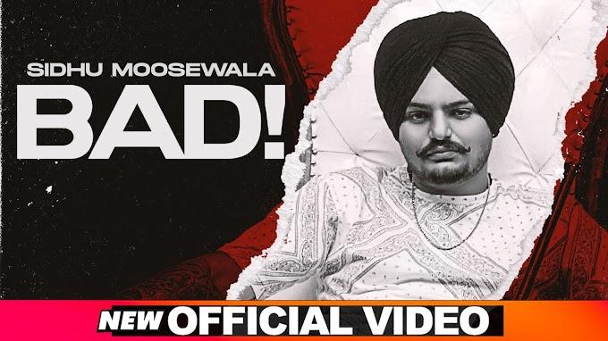 बैड Bad Lyrics in Hindi - Sidhu Moose Wala