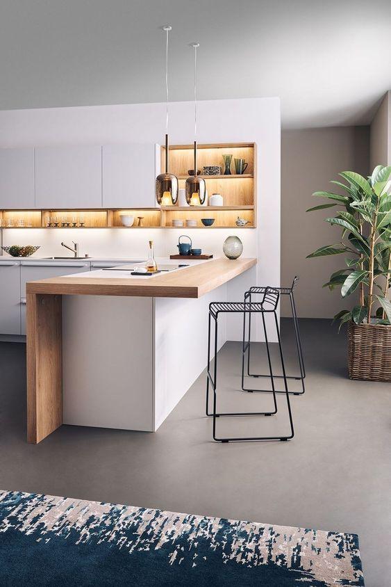 Gorgeous Modern Kitchen Design Idea