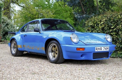 1974 Porsche 911 Carrera RS Lord Mexborough Front Left
