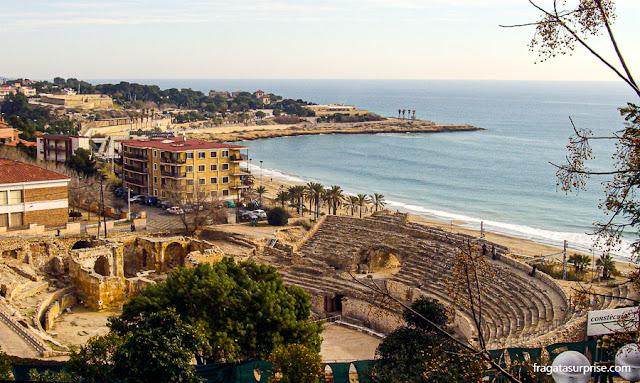 Anfiteatro Romano de Tarragona, Catalunha, Espanha