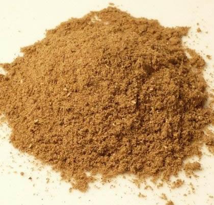 Triphala as powder