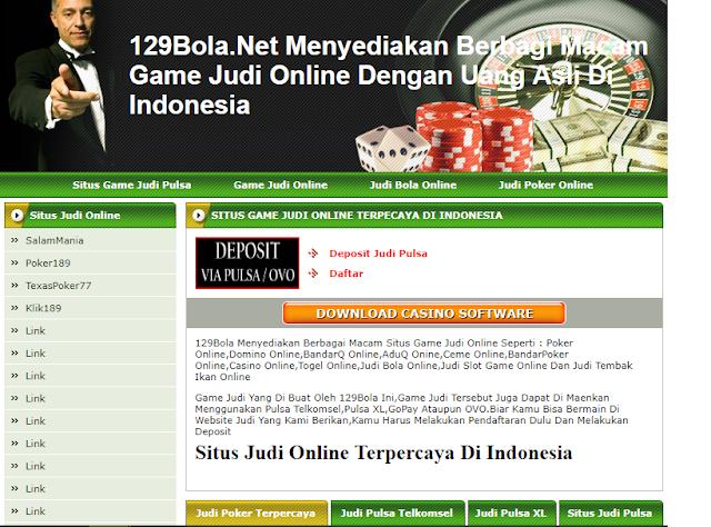 129Bola.Net Game Situs Judi Online Terpercaya Di Indonesia