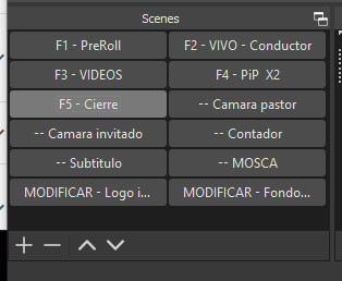 rmi-recursos-multimedia-para-iglesias-OBS-streaming-escneas-fuentes-mixer