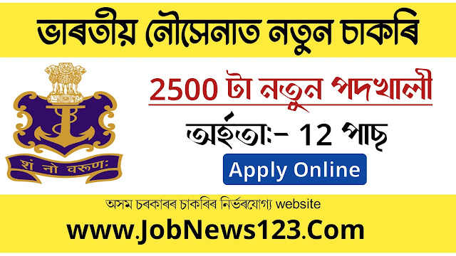 Indian Navy Recruitment 2021: