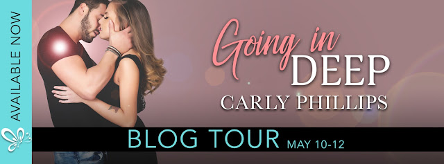[Blog Tour] GOING IN DEEP by Carly Phillips @carlyphillips @jennw23 #UBReviews