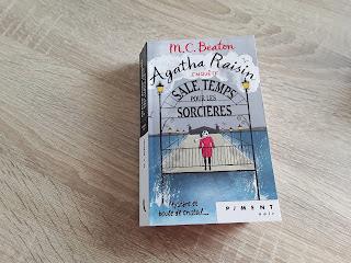 Agatha Raisin piment critique avis couverture roman policier France Loisirs