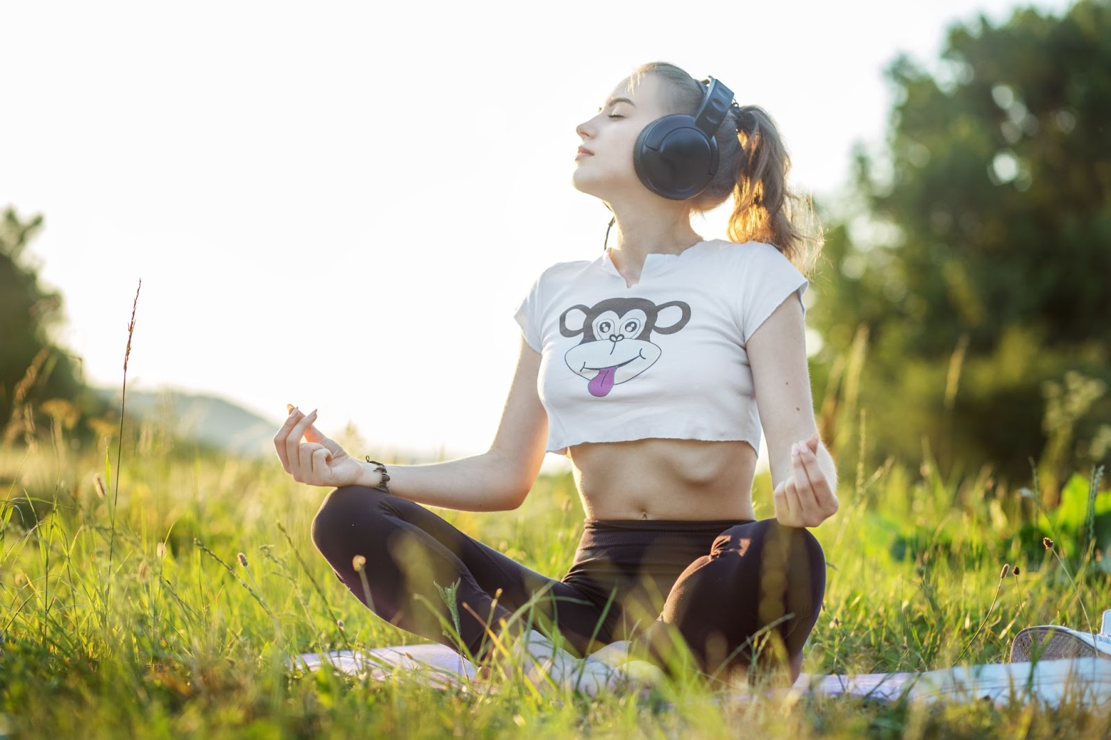 Practicing with Yoga music makes you forget about fatigue