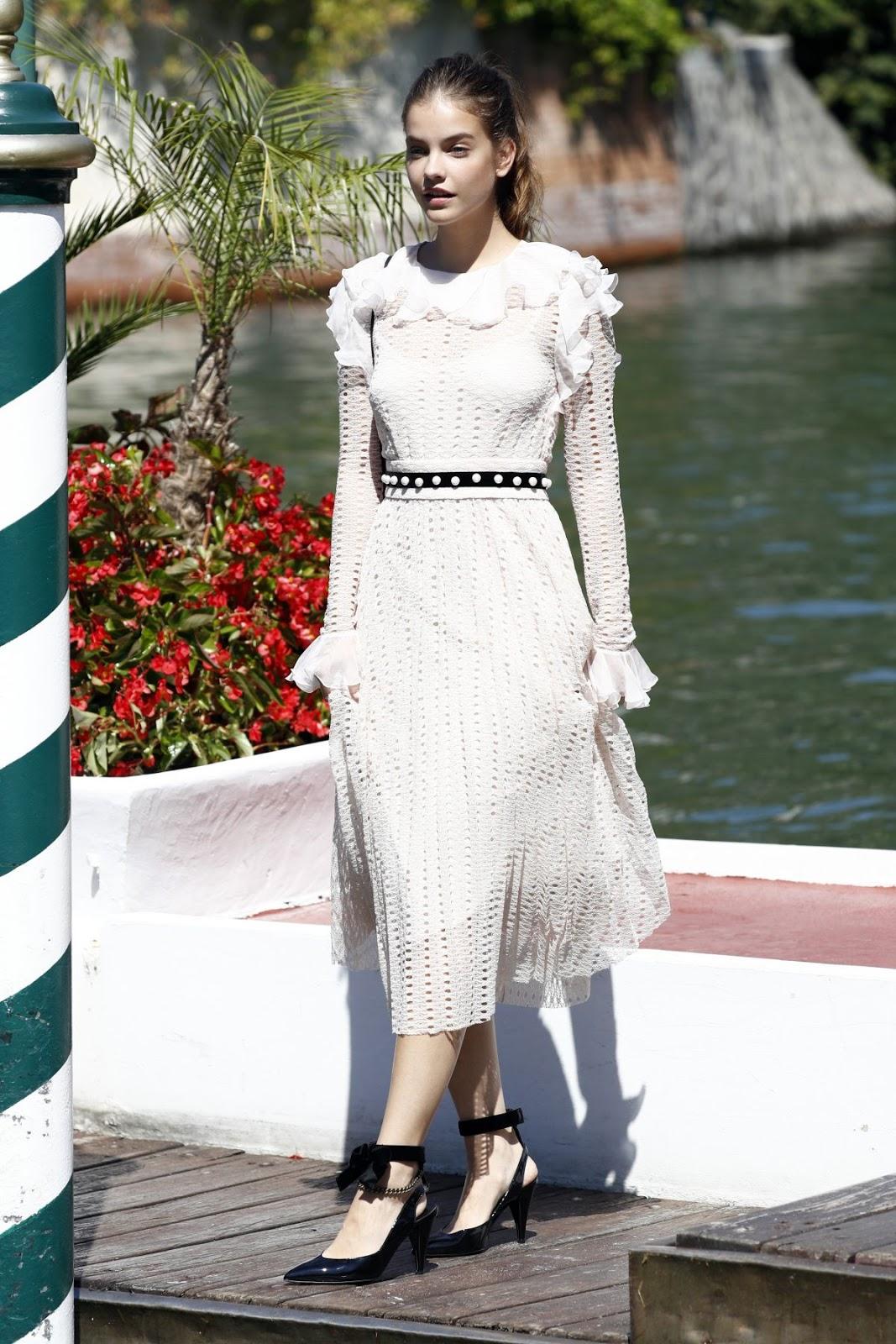 Full HQ Photos of Barbara Palvin Arrives At Hotel Excelsior Venice Film Festival 2016 In Venice