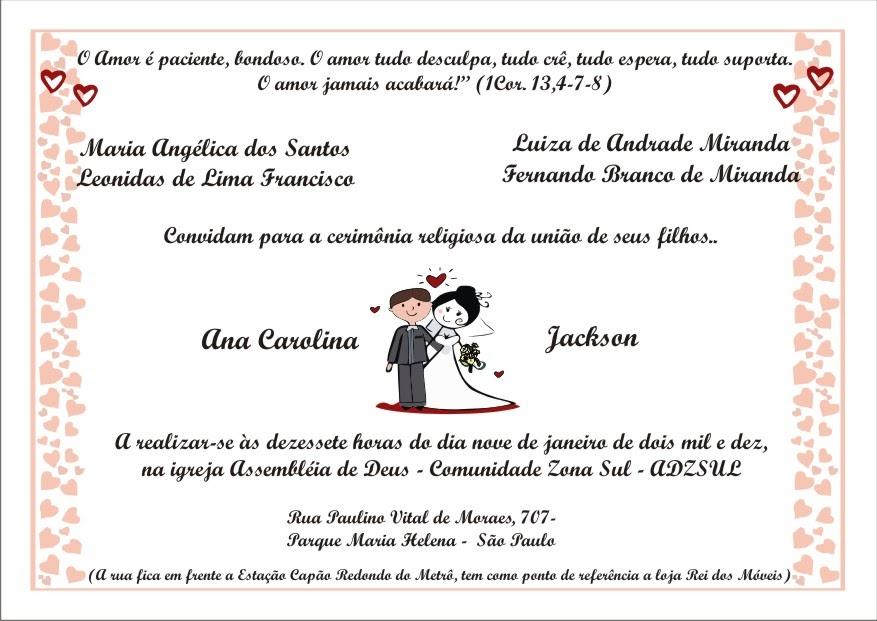 Cartões De Casamento: Portfólio Priscilla Mendes: Cartão De Casamento