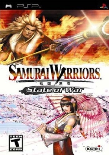 Samurai Warriors State of War PSP Full