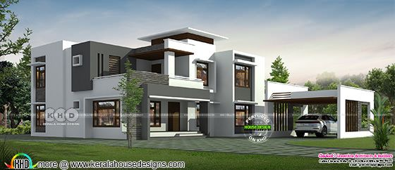 Modern home design 3600 square feet