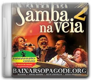 CD Samba Na Veia - 18 Sucessos Ao Vivo (2011)
