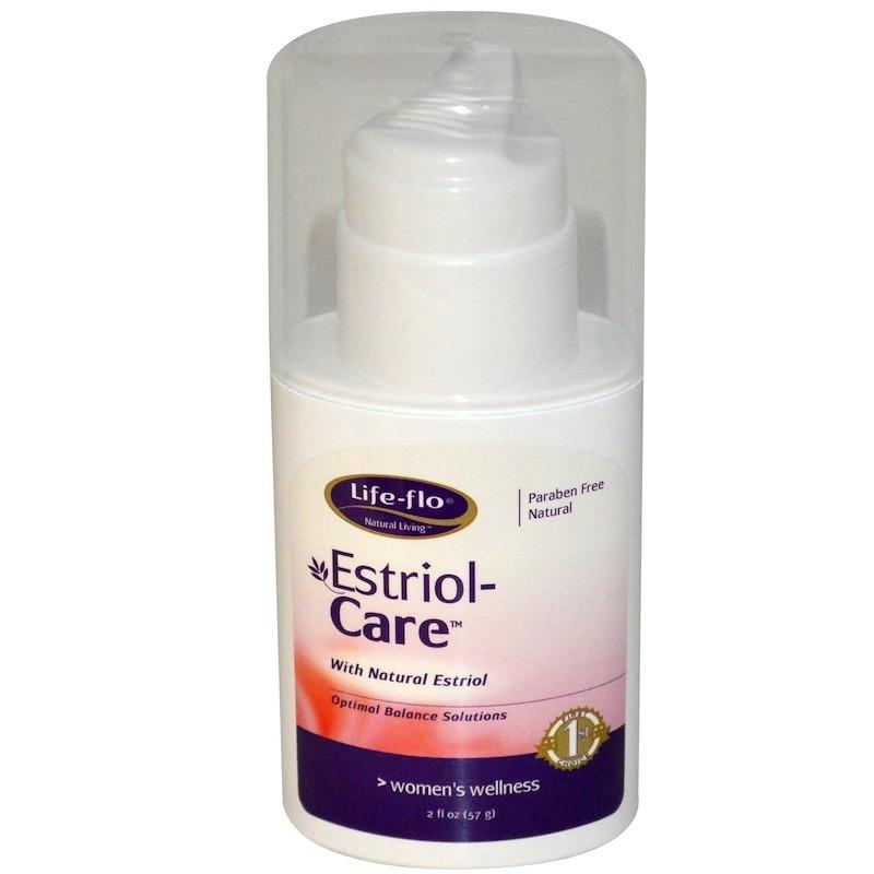Life-flo, Estriol-Care, 2 жидкие унции (57 г)