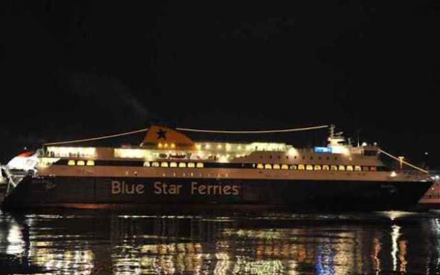 Απόπειρα αυτοκτονίας στο Blue Star Naxos - Άνδρας πήδηξε στη θάλασσα!