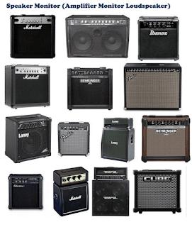 Merk Amplifier Guitar terkenal