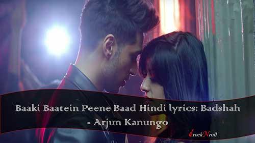 Baaki-Baatein-Peene-Baad-Hindi-lyrics-Badshah