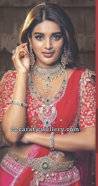 Nidhhi Agerwal Diamond Vaddanam