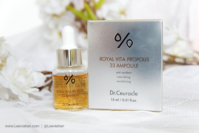 Dr. Ceuracle Royal Vita Propolis 33 Ampoule Review, Dr. Ceuracle Indonesia, Dr. Ceuracle Serum