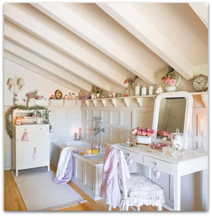 Shabby Chic Interior Design: Festive Shabby Chic Interior Decor