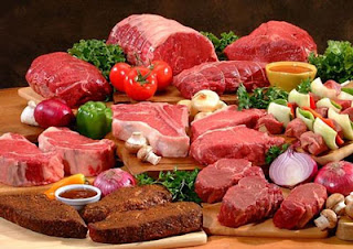 Try to exclude red meat in the meal