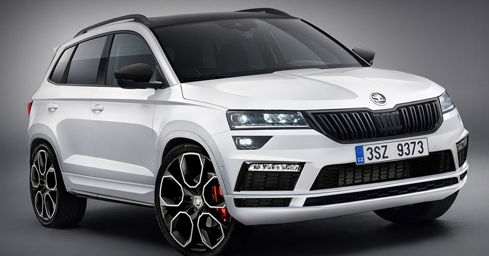 skoda karoq looks sportier in rs and monte carlo trim. Black Bedroom Furniture Sets. Home Design Ideas