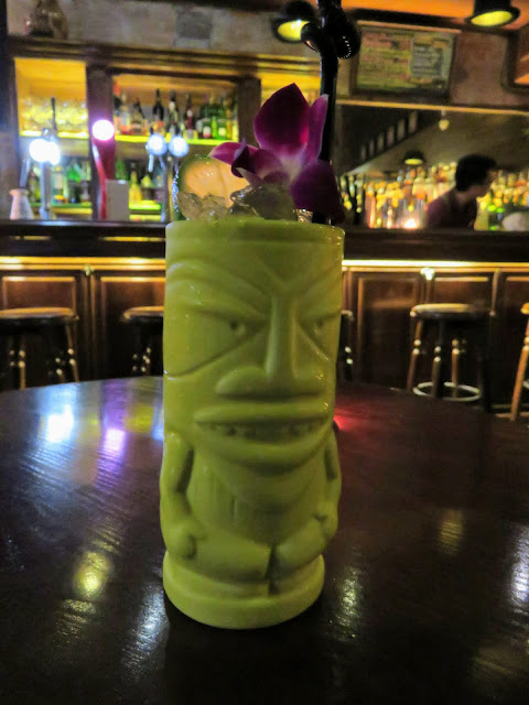 Tiki Cocktail at Polite Pub in Hanoi Vietnam
