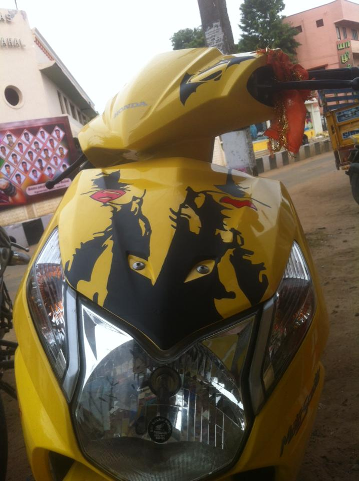 Dio Modified 2018 Honda Dio Stickering Designs Car