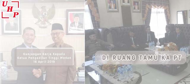 Kunjungan Advokat ke Ketua Pengadilan Tinggi Medan