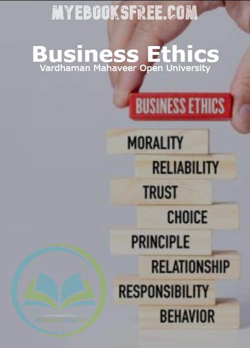 Business Ethics By Vardhaman Mahaveer Open University PDF Download