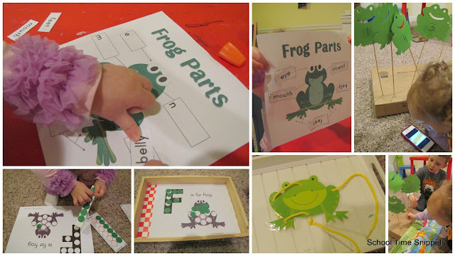 Letter F Toddler Activities