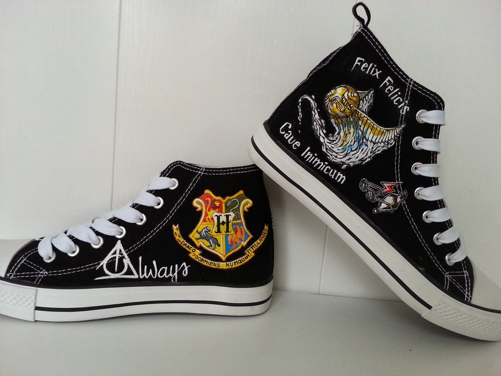 2b051b6d120 muchomaskezapas: Zapatillas Harry Potter