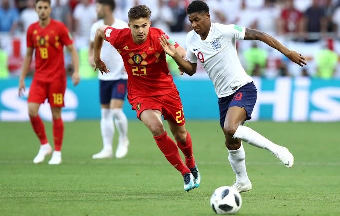 Bélgica derrotó a Inglaterra y quedó primera