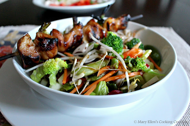 Grilled yakitori chicken with cold veggie soba noodle bowls. Too hot to cook! Celebrating 10 years of our best recipes.