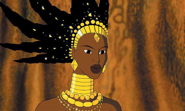 La bruja Karabá en la película de animación Kiriku y la bruja