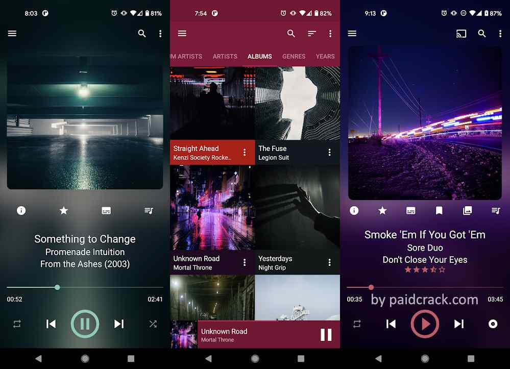 GoneMAD Music Player Mod Apk 3.0.2 [Full Version Unlocked]