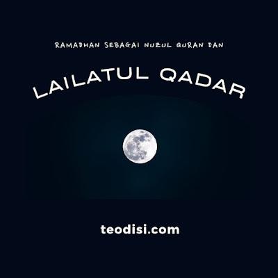 Ramadhan sebagai Nuzulul Quran dan Lailatul Qadar Bagian 1