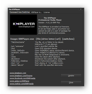 Screenshot Free Download Software PC The KMPlayer 4.0.7.1. Newest Version 2016 Full Version