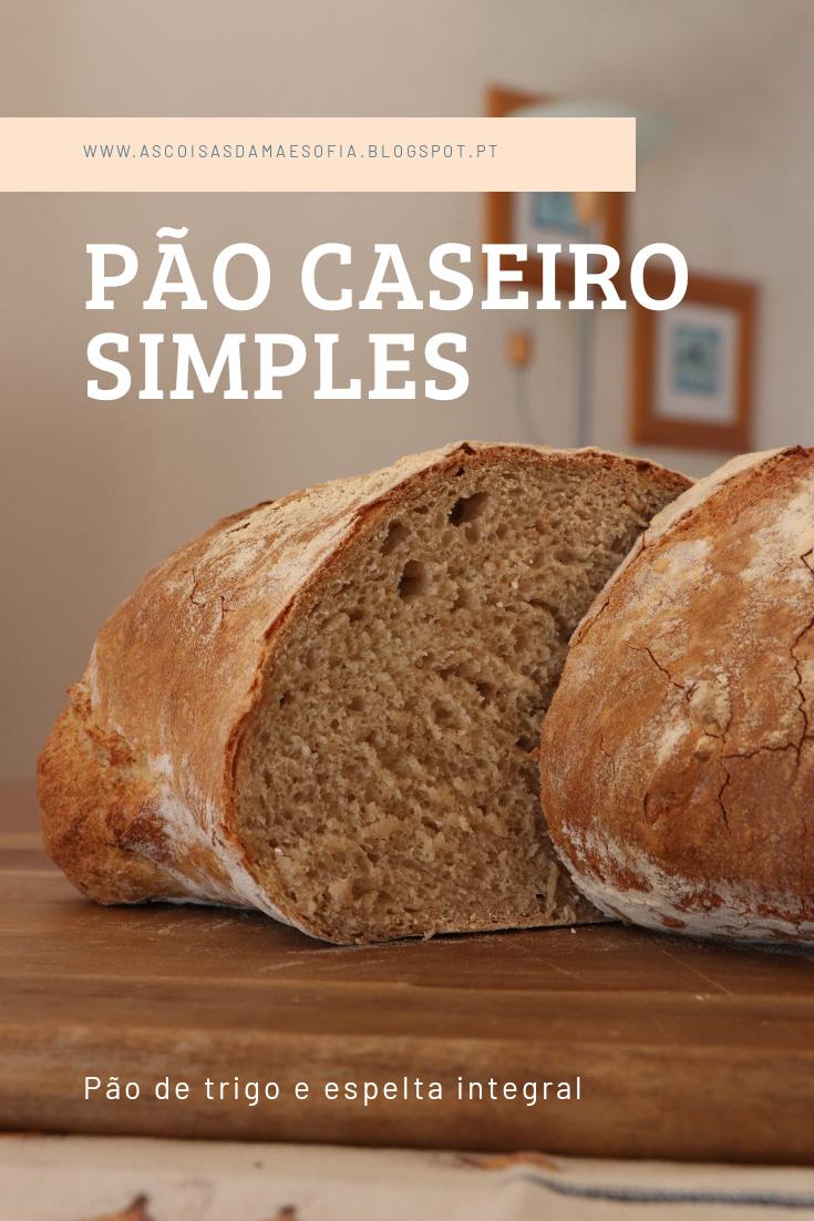 Pão Grande de Trigo e Espelta Integral